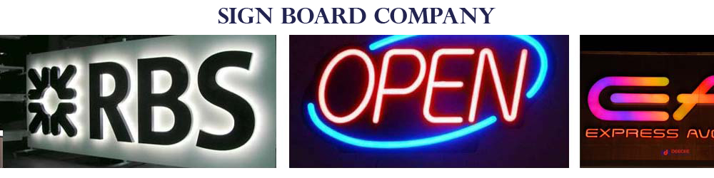 Sign board Company, Signage company in sharjah
