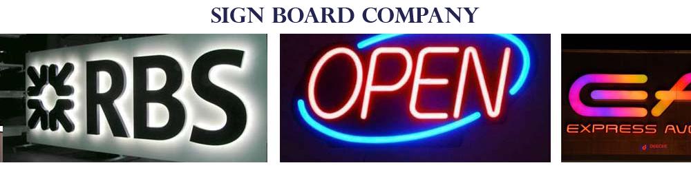 Signboard Company in Dubai, Sharjah, Sign Board Design in